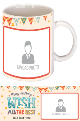 Beautiful Decorative Designer Birthday Mugs