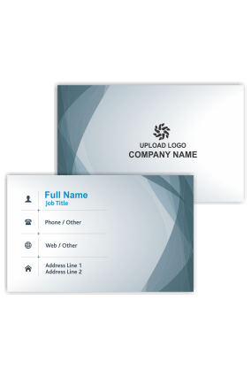 Decent Personalized Bank Visiting Card