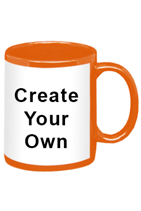 Create Your Own Orange Patch Mug
