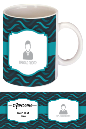 Awesome Personalized Designer Bone China Mug