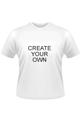 Create Your Own White Dry-Fit Round Neck T-Shirt