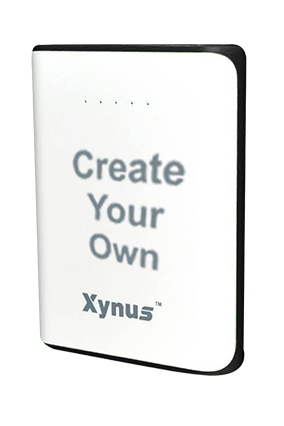 Create Your Own 10400mAh Xynus Power Bank Black