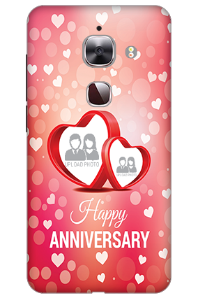 3D - Le Max 2 Floral Hearts Anniversary Mobile Cover