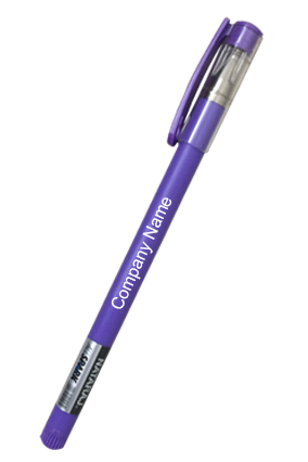 Designer Nataraj All Spark Purple Pen