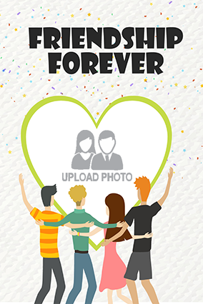 Buy Designer Friendship Day Posters Online In India With Custom