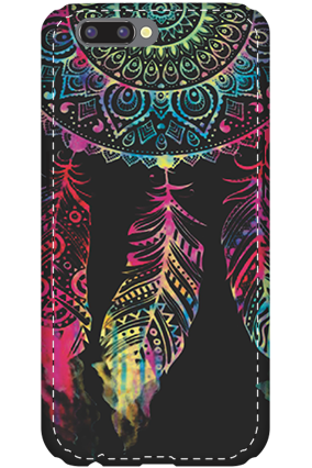 3D - Oppo R10 Abstract Design Mobile Cover