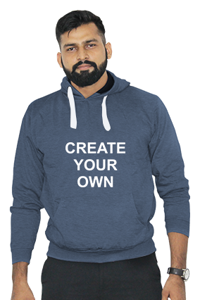 Create Your Own Hoodie (Navy Blue)