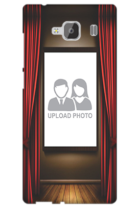 Silicon - Curtain Xiaomi Redmi 2 Prime Mobile Cover