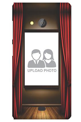 Curtain Microsoft Lumia 540 Mobile Cover
