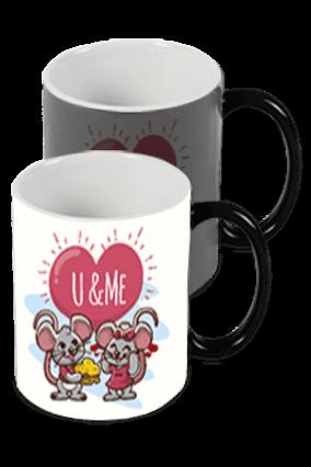 U & Me Black Magic Mug