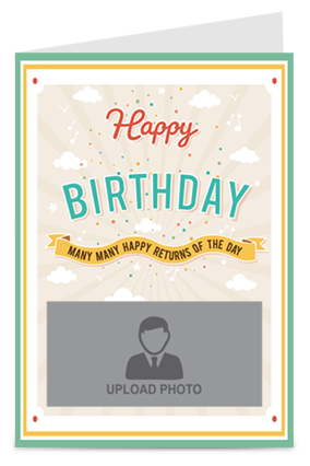 Many Many Happy Returns Of The Day Greeting Card