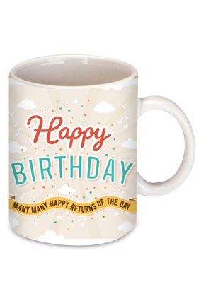 Balloon Birthday Coffee Mug