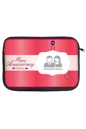 Pink Anniversary Laptop Sleeve