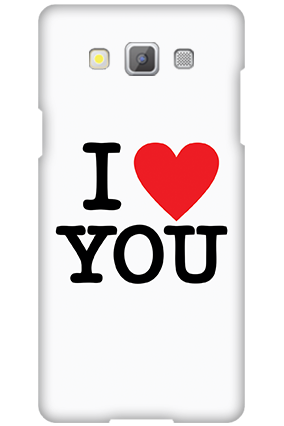 Customize Samsung Galaxy A5 2015 I Love You Valentine's Day Mobile Cover