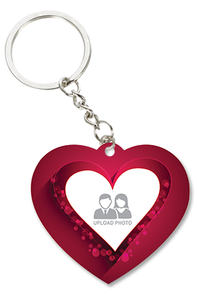 Beautiful Heart Key Chain