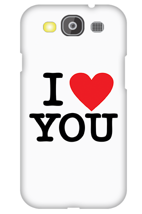 Samsung Galaxy S3 Neo I Love You Valentine's Day Mobile Cover