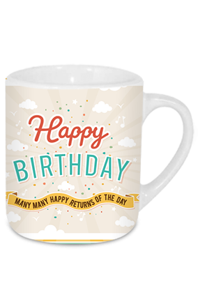 Birthday Wishes Tea Mug