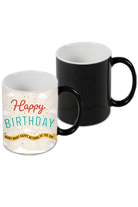 Wishes Black Magic Mug