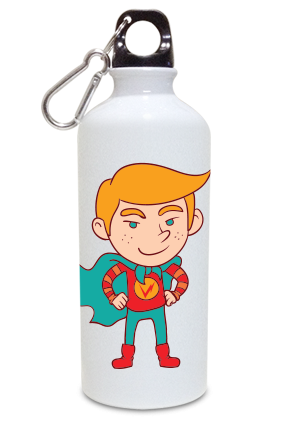 Big Boy 600ml White Sipper