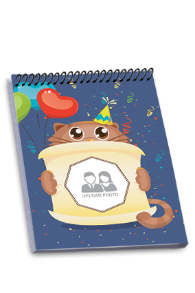 Cute Top Spiral Notebook