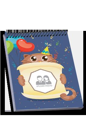 Premium Cute Top Spiral Notebook