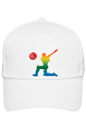 Cricket All- Rounder White Cap