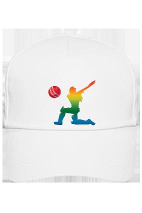 White Cap - Cricket All Rounder