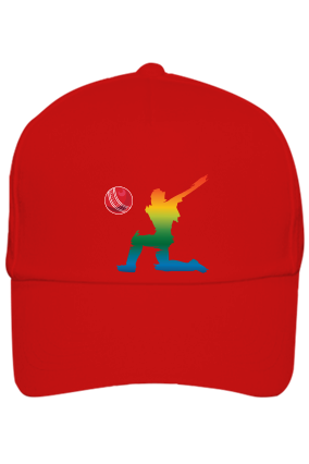 Cricket All- Rounder Red Cap