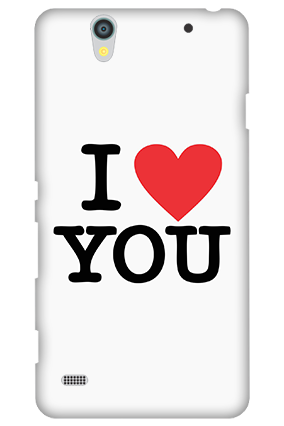 Sony Xperia C4 I Love You Valentine's Day Mobile Cover