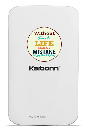 Adorable 10000mAh Karbonn Power Bank