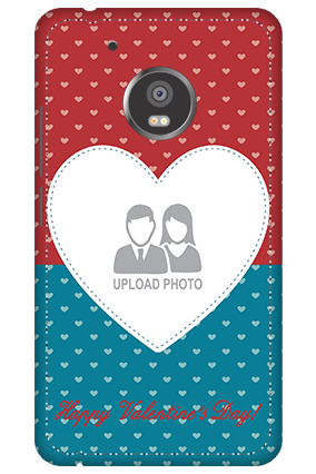 3D -  Moto G5 Colorful Heart Valentine's Day Mobile Cover
