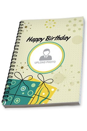 Personalised Birthday Notebook