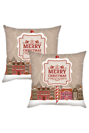 Christmas Elegant Cushion Cover