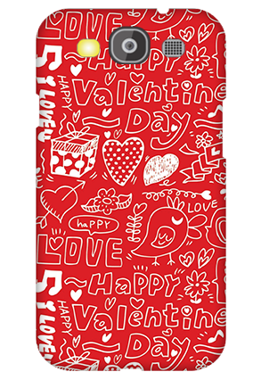 Amazing Samsung Galaxy S3 Neo Happy Valentine's Day Mobile Cover