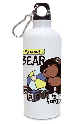 Bear 600ml White Sipper