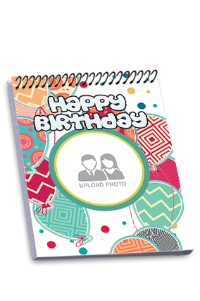 Birthday Party Top Spiral Notebook