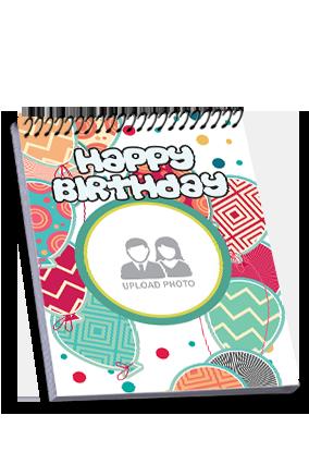 Birthday Party Top Spiral Notebook