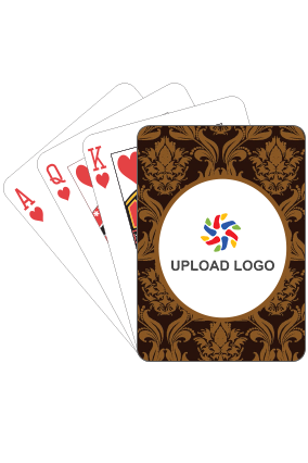 Stylised Brown Playing Cards