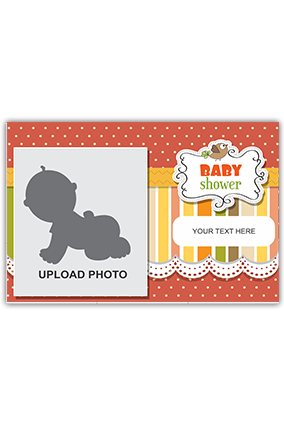 Baby Welcome Canvas Print