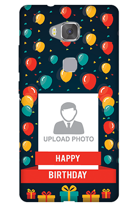 Huawei Honor 5X Balloons Birthday Mobile Cover