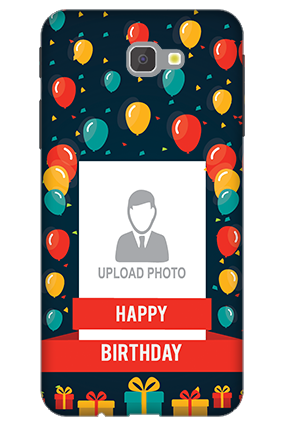 3D - Samsung Galaxy J7 Prime Balloons Birthday Mobile Cover