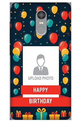 3D - Xiaomi Redmi Note 4 Balloons Birthday Mobile Cover