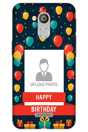 3D - Coolpad Note 5 Balloons Birthday Mobile Cover