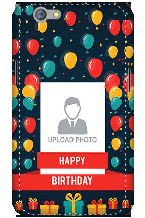 3D - Oppo F1S Balloons Birthday Mobile Cover