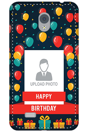 Personalized 3D-Vivo Y21L Balloons Birthday Mobile Cover