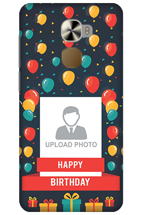 LeTV Le Pro 3 Balloons Birthday Mobile Cover