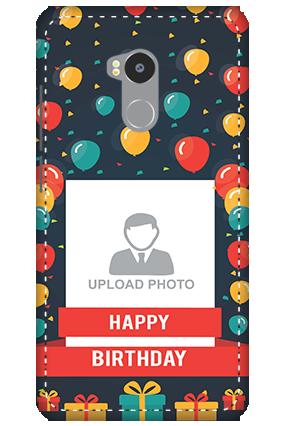 3D - Redmi 4 Prime Balloons Birthday Mobile Cover