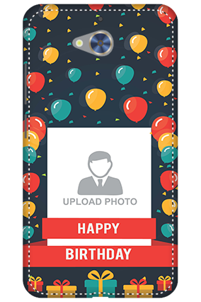 3D - Gionee S6 Pro Balloons Birthday Mobile Cover