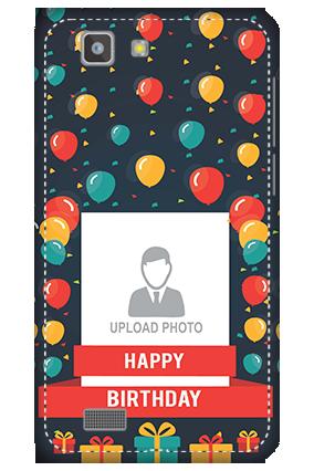 3D - Vivo X3S Balloons Birthday Mobile Cover