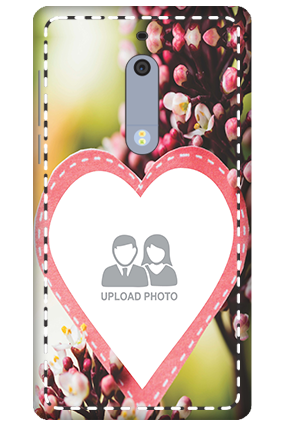 3D - Nokia 5 Floral Mobile Cover